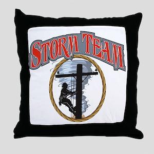 2011 Tornado Storm front Cafe Press Throw Pillow