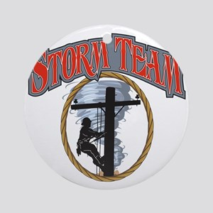 2011 Tornado Storm front Cafe Press Round Ornament