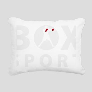 box sport Rectangular Canvas Pillow