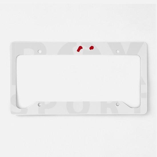 box sport License Plate Holder