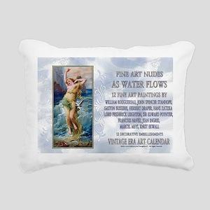 1 A ZATZKA-WaterNymph-As Rectangular Canvas Pillow
