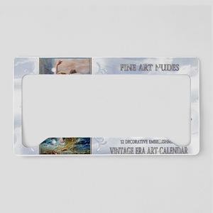 1 A ZATZKA-WaterNymph-AsWater License Plate Holder