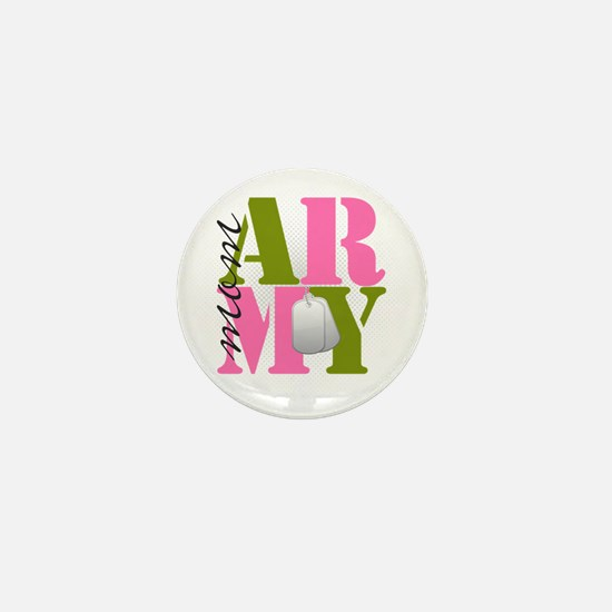 armymom Mini Button