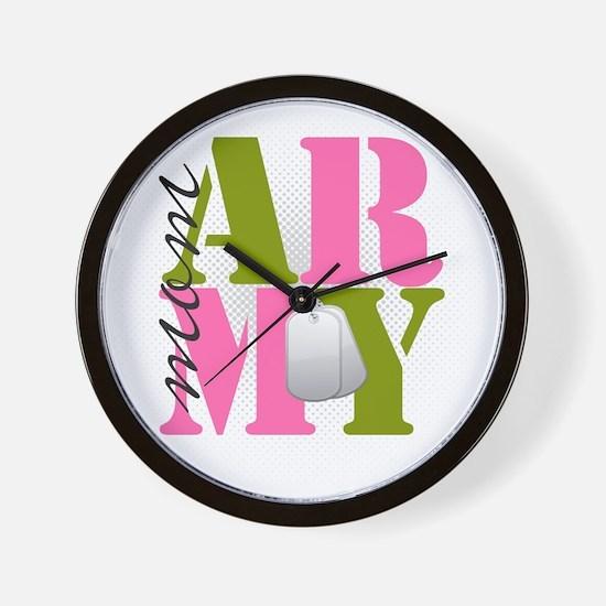 armymom Wall Clock