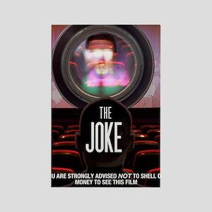 the joke poster Rectangle Magnet