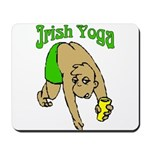 Irish Yoga Mousepad