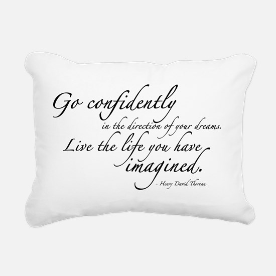 THOREAU2-wallpeel-38x24 Rectangular Canvas Pillow
