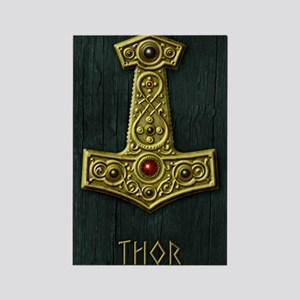 Thors Hammer X Gold- THOR Rectangle Magnet