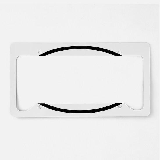 swim License Plate Holder