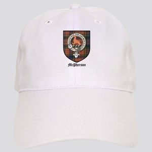 McPherson Clan Crest Tartan Cap