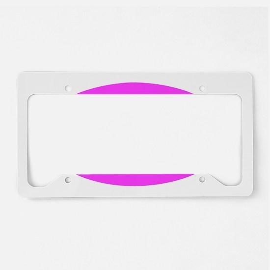 Swim_pink License Plate Holder