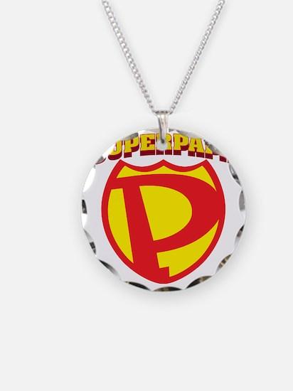 SuperPapa Logo Necklace