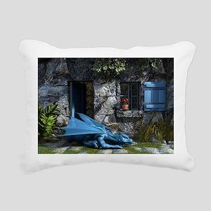 Baby_Blue Rectangular Canvas Pillow