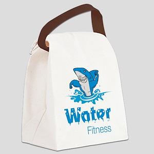 TMac Water Aqua Aerobics Fitness Canvas Lunch Bag