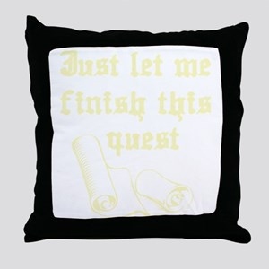 questrollC Throw Pillow