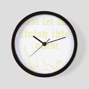 questrollC Wall Clock