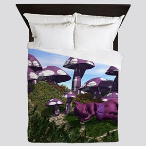 Mushrooms Queen Duvet