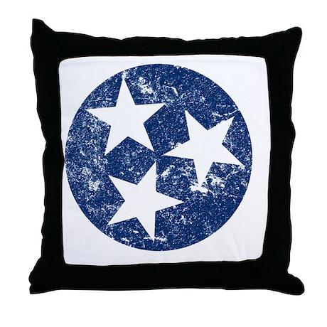 TN_shirt_bl Throw Pillow