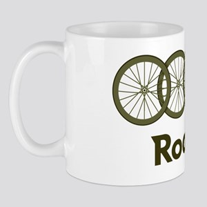 Roadie cycling Shirt - Green Mug
