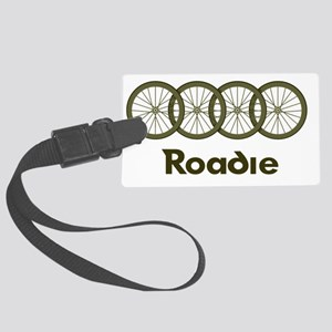 Roadie cycling Shirt - Green Large Luggage Tag