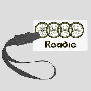 Roadie cycling Shirt - Green Large Luggage Tag