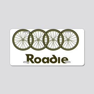 Roadie cycling Shirt - Gree Aluminum License Plate