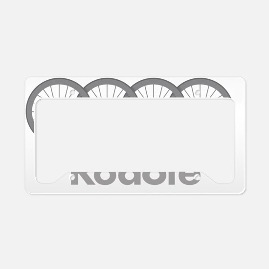 Roadie Cycling Shirt - White License Plate Holder