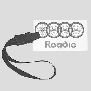 Roadie Cycling Shirt - White Large Luggage Tag
