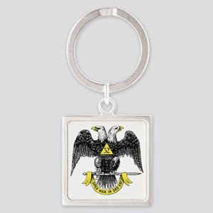 32_eagle_hi_res2 (1) Square Keychain