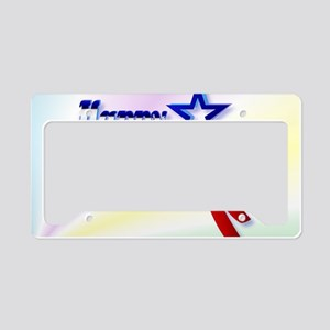 Happy 4th Of July-Yardsign License Plate Holder