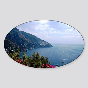 Amalfi Coast, Italy Sticker (Oval)
