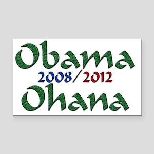 ObamaOhanaLogo12 copy Rectangle Car Magnet