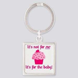 for the baby Square Keychain
