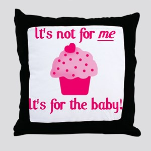 for the baby Throw Pillow