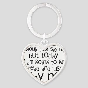 sayno Heart Keychain