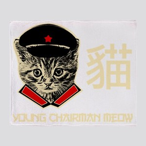 chairman_meow Throw Blanket
