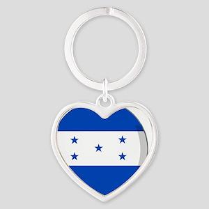 honduras Heart Keychain