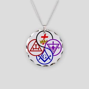 york-pinwheel-alt Necklace Circle Charm