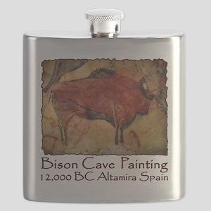cave bison spain Flask