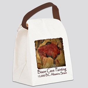 cave bison spain Canvas Lunch Bag