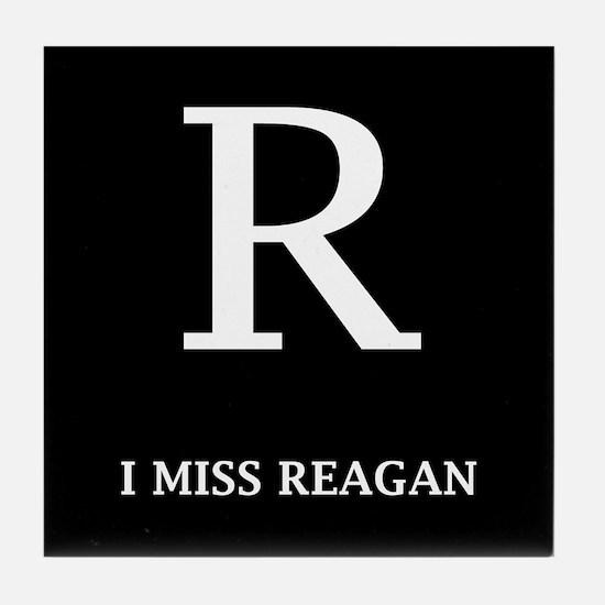 I Miss Reagan Tile Coaster