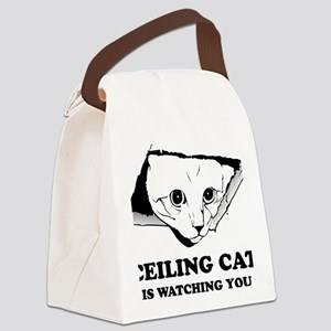 CeilingCat Canvas Lunch Bag