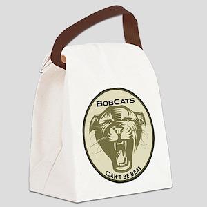 bobcats Canvas Lunch Bag
