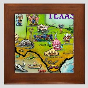 TEXAS Blanket Framed Tile