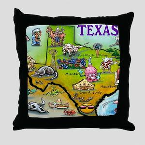 TEXAS Blanket Throw Pillow