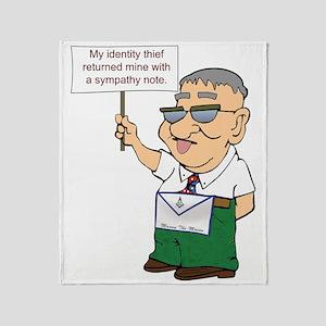 MANNY identity copy Throw Blanket