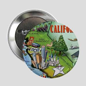 "California Map Blanket 2.25"" Button"