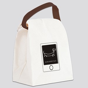 Tweet your Weiner Right! Canvas Lunch Bag