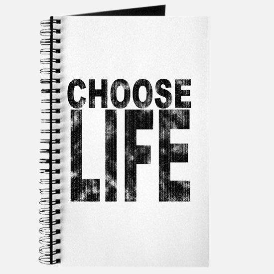 Choose Life Distressed Journal