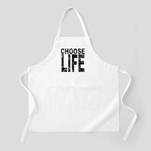 Choose Life Distressed BBQ Apron